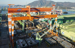 Samsung Heavy to Wind Up Ops at Another Dock