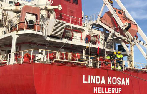 Lauritzen Kosan Reflags Two Gas Carriers to Denmark