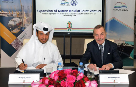 Nakilat, Maran Gas Add Two LNG Carriers to Their JV