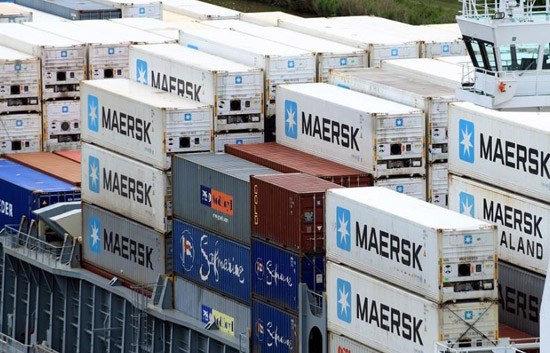 Maersk Shanghai Loses 70 Containers amid Stormy Weather
